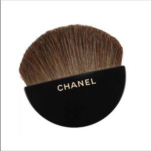 New. CHANEL small  half-moon brush